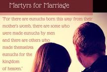 CHASTITY & MATRIMONY / Chastity, purity, modesty, marriage and relationships.
