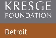 Kresge Detroit / We aspire to change the city of Detroit's trajectory to one of long-term economic opportunity that advances social equity, promotes cultural expression, and re-establishes our hometown as the center of a vibrant region.