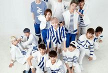 Seventeen / I've been a fan since their debut really love their music  Bias: Hoshi & The8