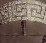 Meander/Greek Key Tiaras - Tiara Mania / Tiaras with a meander or Greek key design