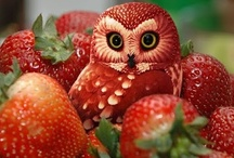 Fruit Art / Fruit Art - fun things people create out of fruits.