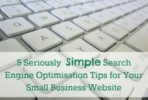 SEO for Smallbiz / Looking for tips to boost your search engine rankings? Here are SEO tips that smallbiz owners can use!