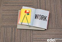 A colourful office! | Kleurrijk op Kantoor / Maak je kantoor of werkkamer kleurrijk en comfortabel door gebruik van tapijt. | Use carpet to create a colourful and inspiring office. Styling Frank Visser; Photography Jeltje Janmaat