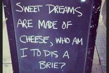 Foodie Funnies / Witty & silly jokes for all you foodies out there, or those who just enjoy food and wine!