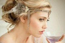 Bridal Hair and Headdress'
