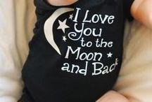 To the moon and back / Eva en ik zeggen het iedere avond tegen elkaar. Ik hou van je tot de maan en weer terug en ... tot de sexy coole regenboog!