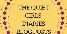 The Quiet Girl Diaries Blog Posts / Blog posts from the Quiet Girl Diaries, a website sharing lifestyle, blogging and writing tips for introverts. Topics include blogging tips, goal setting, planning, my life experiences, book reviews, traveling tips and more!