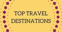 Top Travel Destinations / World travellers unite! Follow this board and I guarantee you'll add a country or two to your bucket list. Includes my top travel destinations and recommendations, budget travel tips, travel gear essentials, packing tips, and more!