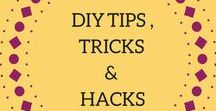 DIY Tips, Tricks, & Hacks / A round-up of the best articles for at-home DIY projects. Crafts, gifts, homeware, beauty, clothes, and more! Follow this board to stay in the loop on the best DIY tips and tricks. To contribute, follow the board, and send me an email at info@quietgirldiaries.com