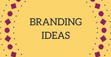 Branding Ideas / Resources and branding ideas to help you grow a professional looking blog and business though branding