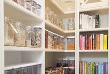 Pantry Ideas & Organization / Ideas for building and organizing a pantry.