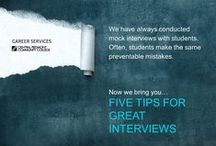 Interviewing / by Career Services