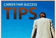 Career Fair Tips & Strategies / Helpful tips on how to be the stand-out candidate at a career fair.  / by Career Services