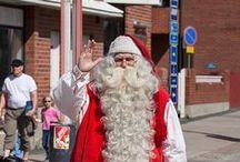 Santa Claus & Santa Village / Santa Claus in Rovaniemi, Finland is very real! Finnish people call him Joulupukki.