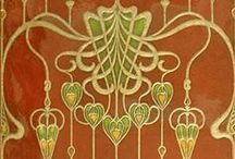 Art Deco / Art Nouveau Inspiration / The Art Deco & Nouveau movements are full of inspiration for me. The shapes, motifs, colors and movement fill me with joy. You can see the influence in many of my knitting patterns. Here is where it comes from.