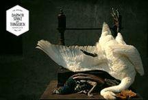 Swan Jan Weenix / From the Collection: La vie dans l'Eden Flamboyantly designed by Dutch Artists Sinke & van Tongeren