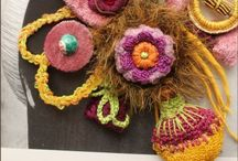 Fabric Jewelry, Beads & Decor / Fabric jewelry, beads and decor  / by Susan Ray