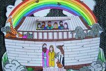 Werbladen Bijbel / Werkjes voor kinderen thema bijbel