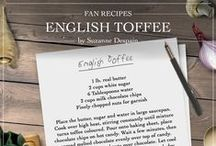 Downton Abbey Fan Recipe Cards / This is a collection of your favourite recipes!