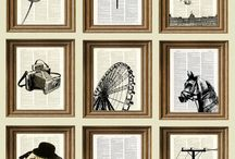 На стене / Полки. Фотографии. Рамки.