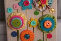 boutons bricolages