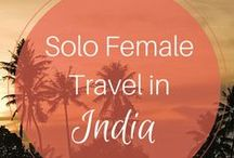Solo Female : Travelling In India : Travel Tips / Find the most exhaustive collection of Female Solo Traveller Tips. #solofemaletraveler #India  Feel free to join us as a collaborator.