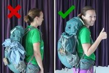 Backpacks : Everything You Ever Want To Know / Here you can find everything you want to know about backpacks, how to pack them, how to select the best backpack for you, what to pack in it, how to optimise your backpack and so on