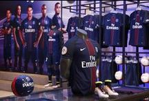 PARIS SAINT-GERMAIN STORES / You can find here the new designs, event of Paris Saint-Germain Stores.
