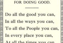 Words to live by / by Kim Jelsma Elam