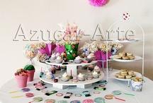 Mesas Dulces y Candy Bar / www.azucar-arte.com.ar