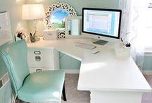 Home Sweet Home - Desk/Office - craftroom & Book nook
