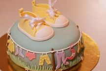 Baby Shower / Simply gorgeous baby shower themed cookies, cupcakes and cakes to celebrate your new arrival.
