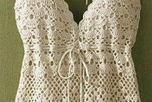 crocheting and knits