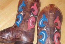 Boots are made for.... / by Amelia Blackwell