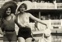 1920's Sea Sirens / 1920's swim suits and beach wear