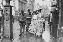 Edwardian Going Places / Early 20th Century Outdoor Fashion (1895-1919): Coats, Capes and Hats