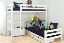 Xxl System Children Beds / A Beautiful Universe for Your Childrens Bedroom. Children Furniture e.g. with Bunk bed, Mid high bed, Half high bed, High bed, Conopy bed and Sofabed made in the Highest Quality from Hoppekids.