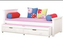 Deluxe System Children Beds / A Beautiful Universe for Your Childrens Bedroom. Children Furniture e.g. with Bunk bed, Mid high bed, Half high bed, High bed, Conopy bed and Sofabed made in the Highest Quality from Hoppekids.