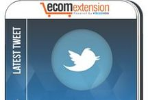 Magento Latest Tweet Extension / Latest Tweet Extension for Magento enables store owners to display their latest Tweets from Twitter to their Magento Website. It helps build and display your social popularity.