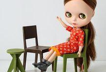 1/6 furniture - for Blythe