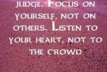 mooie spreuken en quotes / diverse waardevolle spreuken en quotes; om over na te denken