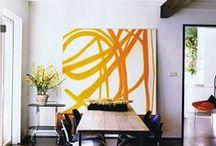 Art in interiors / by Ari Kate Ashton