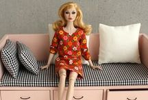 """1/6 furniture - for Barbie, Poppy and other 11-12"""" dolls / http://minimagine.storenvy.com/"""
