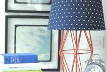 DIY Lighting and Lamp Hacks / Repurpose and create your own DIY Lamp with these quick and easy ideas.