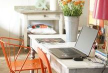 Home Sweet Office / Home decor and organization ideas for the home office.