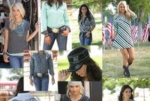 CRUEL GIRL SUMMER 2014 / The July 2014 Cruel Fashions.  Western influenced wear for in and out of the arena.