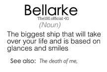 Bellarke / Dark~Light / Day~Night  It's all about the balance.