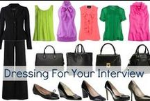 Women's Professional Attire / How to dress in casual, business casual and business professional attire for women