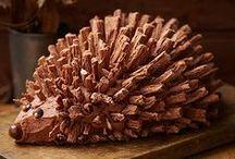 Un jour un gateau rigolo / Des idées de gâteaux rigolos à réaliser pour les anniversaires, fêtes ou Noël. #gateaurigolo #anniversaire # fête #noël