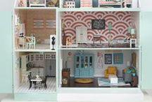 Un jour une maison de poupée / Sélection de belles maisons de poupée qui font rêver ! #maisondepoupée #dollhouse #jouetenfant